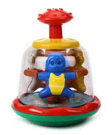 Kids Zone Push And Spin Monkey