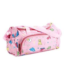 Mee Mee Mama's Bag Bunny And Fish Print MM-06 - Pink
