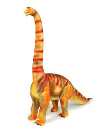 Geoworld Jurassic Action Brachiosaurus Dinosaur Figure - Light Brown