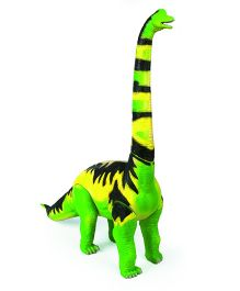 Geoworld Jurassic Action Brachiosaurus Dinosaur Figure - Green And Yellow