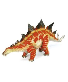Geoworld Jurassic Action Stegosaurus Figure - Brown And Red