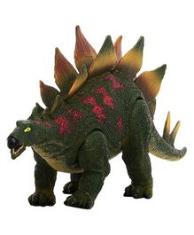 Geoworld Jurassic Action Stegosaurus Firgure - Green Red