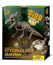 Geoworld Dino Excavation Kit Stygimoloch Skeleton