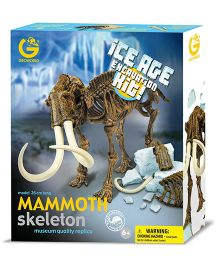 Geoworld Ice Age Excavation Kit Mammoth Skeleton