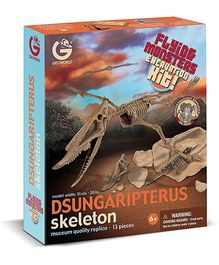Geoworld Flying Monsters Dsungaripterus Skeleton Excavation Kit
