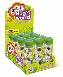 Geoworld Bug's World 1 Tube With 3 Marbles
