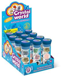 Geoworld Crystal World 1 Tube With 3 Marbles