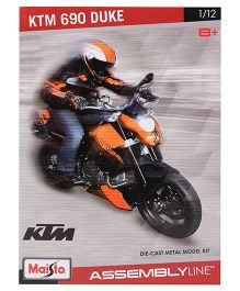 Maisto Die Cast Metal KTM 690 Duke Assembly Line Kit