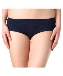 Adira Cotton Period Panty Boxer - Navy Blue