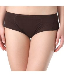 Adira Cotton Period Panty Boxer - Brown