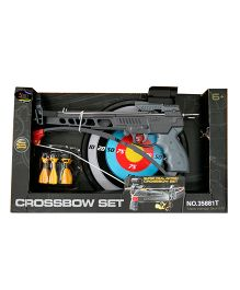 AdraXx Pistol Crossbow Toy Archery Set With Darts