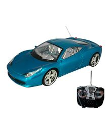 Adraxx Sports Remote Controlled Car Toy - Blue