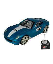 Adraxx Remote Controlled Sports Car Toy - Blue