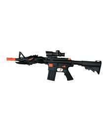 AdraXx Exciting Toy Handgun With Dual Soft Shots