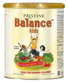 Pristine Balance Kids Vanilla - 200 Grams