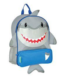 Stephen Joseph Sidekicks Backpack Shark Grey - Height 12.75 Inches