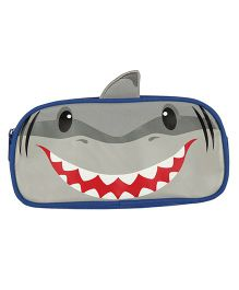Stephen Joseph ELP Pencil Pouch Shark - Grey