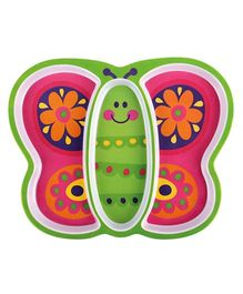 Stephen Joseph Melamine Tray Butterfly - Multicolor