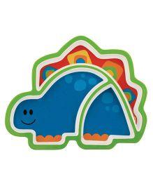 Stephen Joseph Melamine Tray Dino - Multicolor