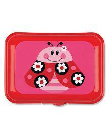 Stephen Joseph Snack Box Ladybug - Pink And Red