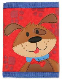 Stephen Joseph Wallet Puppy - Red