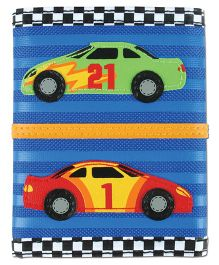 Stephen Joseph Wallet Race Car - Blue