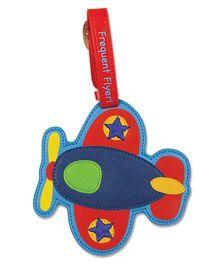 Stephen Joseph Luggage Tag Airplane - Multicolor