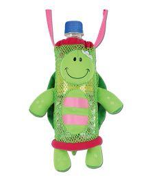 Stephen Joseph Bottle Holder Buddies Turtle - Green