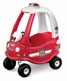 Little Tikes Ride & Rescue Coupe Anniversary Edition Pink White - 614804