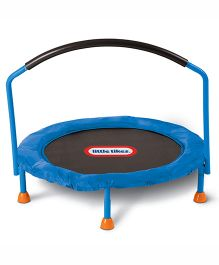 Little Tikes 3 Foot Trampoline Blue & Black - 630354