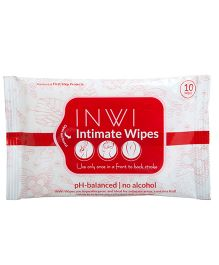 INWI Intimate Wet Wipes by Sirona - 10 Wipes in 1 Pack
