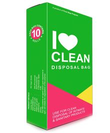 Sanitary Disposal Bag by Sirona - 10 Pieces in 1 Pack