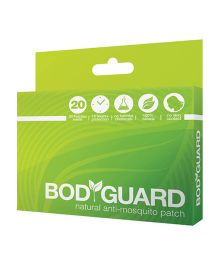 Bodyguard Natural Anti Mosquito Patches - 20 Patches