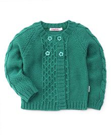 Wingsfield Full Sleeves Sweater - Green