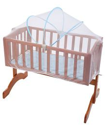 Mee Mee Baby Cradle With Mosquito Net MM-7011