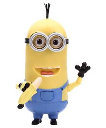 Minions Kevin Banana Eating Action Figure - Yellow