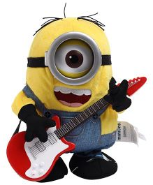 Minions Rock N Roll Stuart - Yellow And Blue