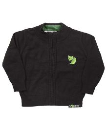 Pinehill High Neck Jacket Soild Colour - Dark Night Black