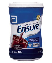 Ensure Chocolate Nutritional Powder - 400 gm Jar