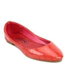 Doink Belly Shoes Square Design - Light Red