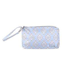 Ju.Ju.Be Be Quick Wristlet Bag Powder Icing Print - Light Blue