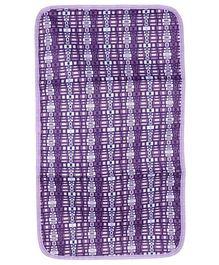 Ju.Ju.Be Light Changing Pad JuJuberry Squares Print - Purple