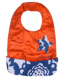 Ju.Ju.Be Be Neat Reversible Baby Bib - Blue And Orange