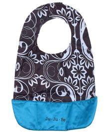 Ju.Ju.Be Be Neat Reversible Baby Bib Printed - Brown