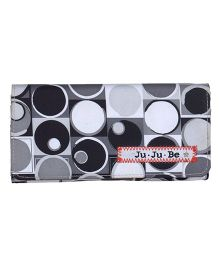 Ju.Ju.Be Be Rich Wallet Midnight Eclipse Print - Black And White