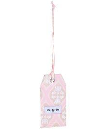 Ju.Ju.Be Be Tagged Bag Tag Blush Frosting Print - Pink