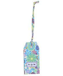 Ju.Ju.Be Be Tagged Bag Tag Dizzy Daisies Print - Blue And Green