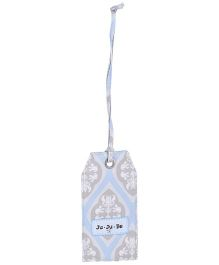 Ju.Ju.Be Be Tagged Bag Tag Powder Icing Print - Light Blue