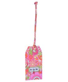 Ju.Ju.Be Be Tagged Bag Tag any Zinnias Print - Pink
