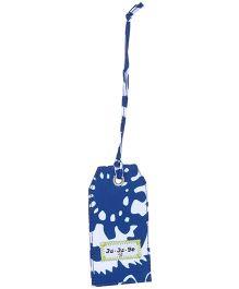 Ju.Ju.Be Be Tagged Bag Tag Cobalt Blossoms Print - Blue
